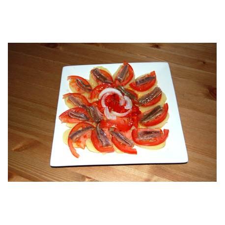Anchoas con Tomate