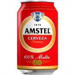 Cerveza Amstel Lata